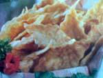 keripik singkong ayam daun jeruk