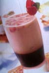 strawberry coffee cooler